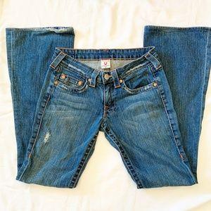 Vintage True Religion Bobby Flare Leg Jeans  576